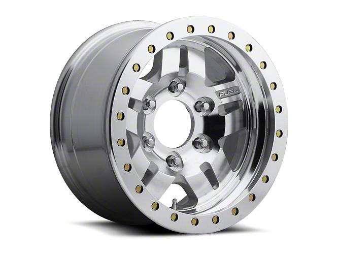 Fuel Wheels ANZA Bead Lock Raw Machined 6-Lug Wheel - 17x9 (99-18 Silverado 1500)