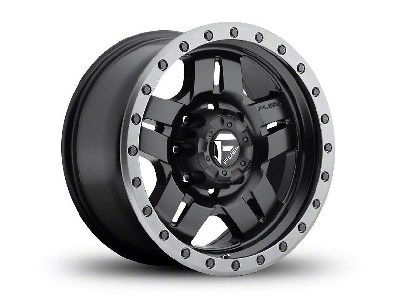 Fuel Wheels Anza Matte Black 6-Lug Wheel - 18x9; 20mm Offset (99-19 Silverado 1500)