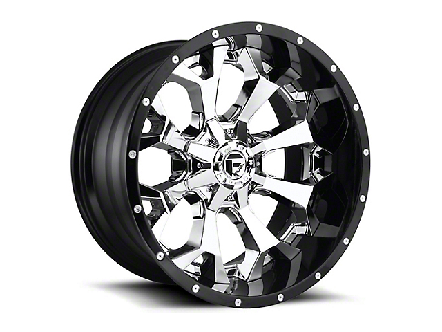 Fuel Wheels Assault Chrome 6-Lug Wheel - 20x12; -43mm Offset (99-19 Silverado 1500)