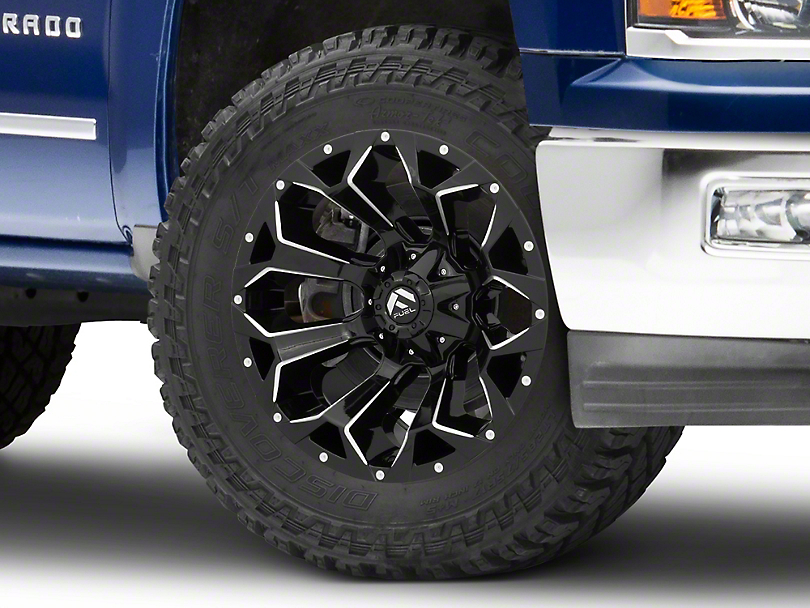 Fuel Wheels Assault Gloss Black 6-Lug Wheel - 20x10; -18mm Offset (99-19 Silverado 1500)