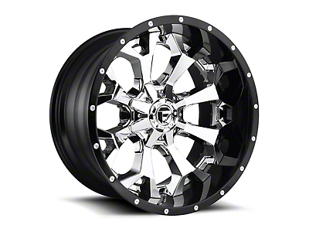 Fuel Wheels Assault Matte Black Milled 6-Lug Wheel - 20x12 (99-18 Silverado 1500)