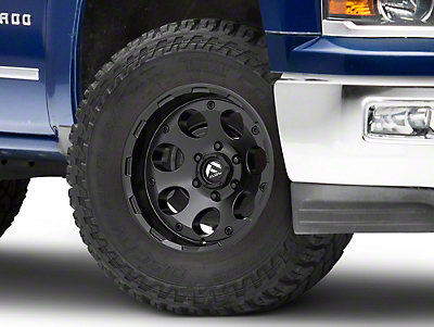 Fuel Wheels Enduro Matte Black 6-Lug Wheel - 17x9 (99-18 Silverado 1500)