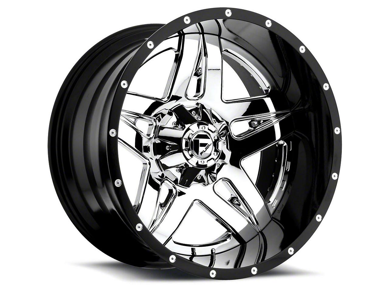 Fuel Wheels Full Blown Chrome 6-Lug Wheel - 22x12 (99-18 Silverado 1500)