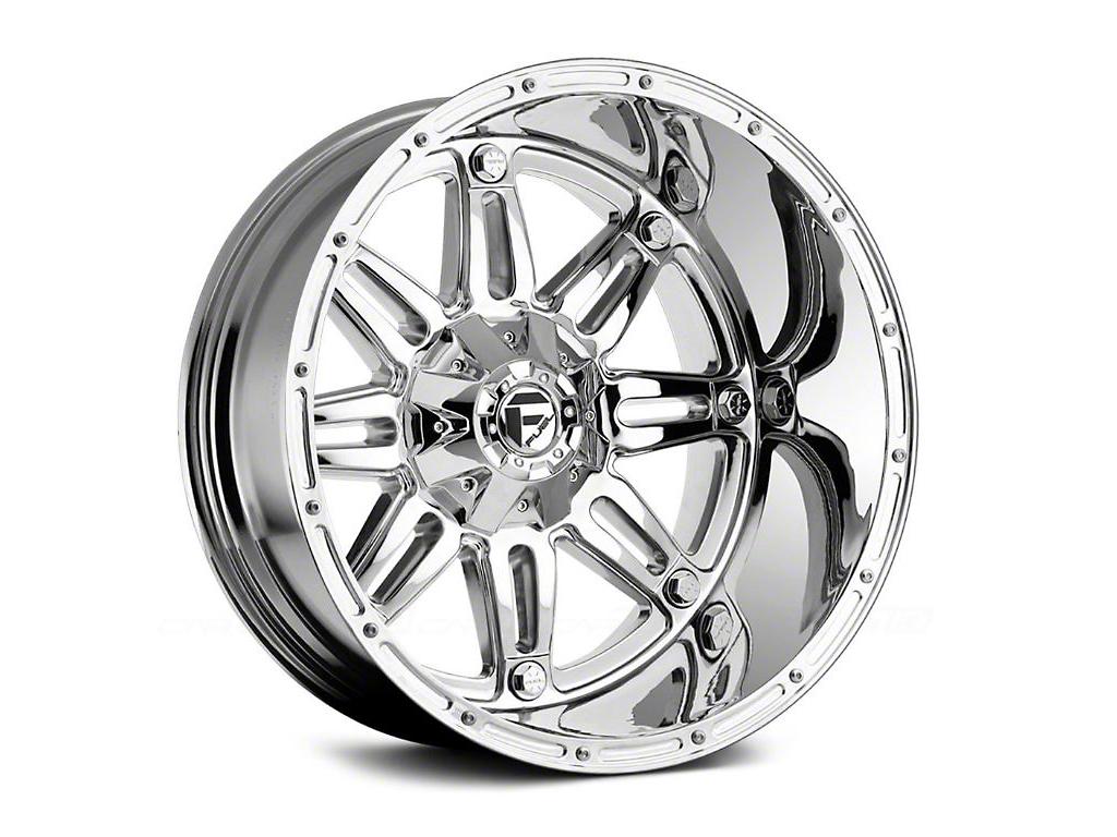 Fuel Wheels Hostage Chrome 6-Lug Wheel - 20x12 (99-18 Silverado 1500)