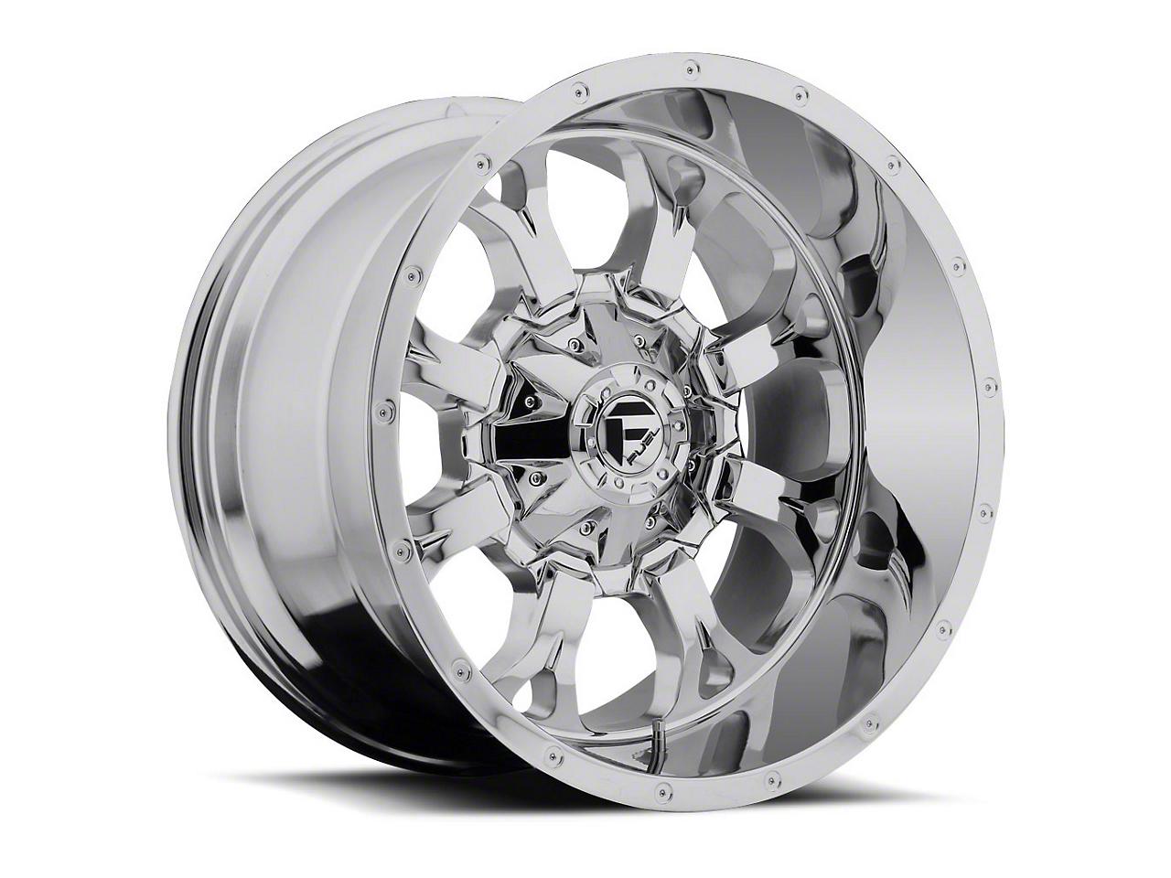 Fuel Wheels Krank Chrome 6-Lug Wheel - 20x9 (99-18 Silverado 1500)