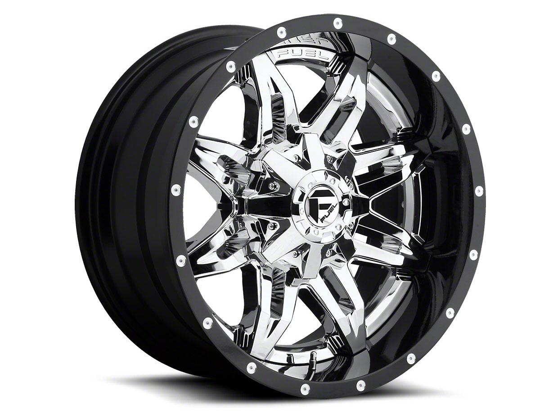 Fuel Wheels Lethal Chrome 6-Lug Wheel - 22x12 (99-18 Silverado 1500)