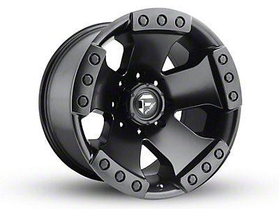 Fuel Wheels Monsta Matte Black 6-Lug Wheel - 20x12 (99-18 Silverado 1500)