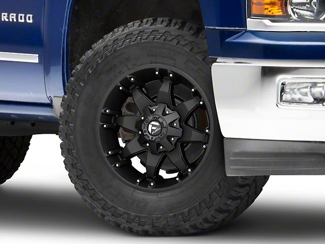 Fuel Wheels Octane Matte Black 6-Lug Wheel; 18x9; -12mm Offset (14-18 Silverado 1500)