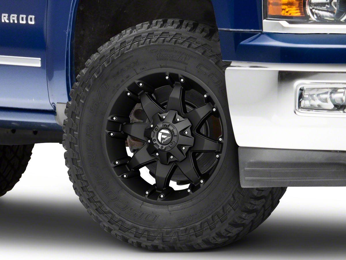 Fuel Wheels Octane Matte Black 6 Lug Wheel 18x9 12mm Offset 99 19 Silverado 1500