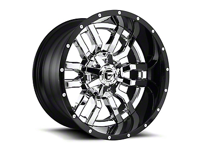 Fuel Wheels Sledge Chrome 6-Lug Wheel - 20x10 (99-18 Silverado 1500)