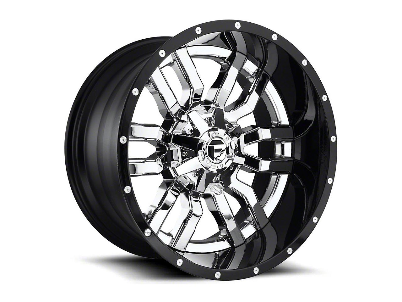 Fuel Wheels Sledge Chrome 6-Lug Wheel - 22x10 (07-18 Silverado 1500)