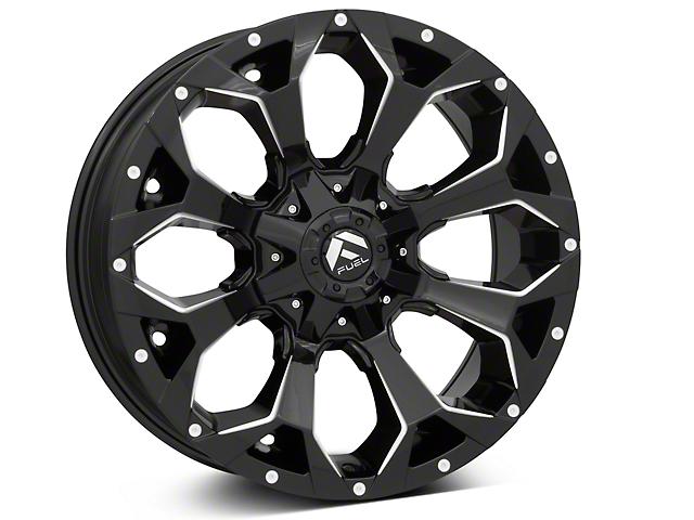 Fuel Wheels Assault Gloss Black 6-Lug Wheel - 20x9 (99-19 Silverado 1500)