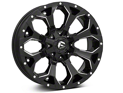Fuel Wheels Assault Gloss Black 6-Lug Wheel - 20x9 (99-18 Silverado 1500)