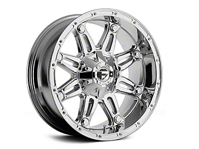 Fuel Wheels Hostage Chrome 6-Lug Wheel - 17x8.5 (99-18 Silverado 1500)