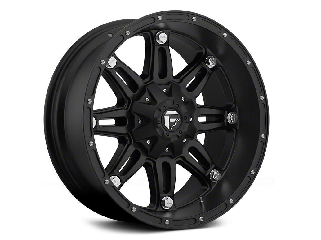 Fuel Wheels Hostage Matte Black 6-Lug Wheel - 18x9 (99-18 Silverado 1500)