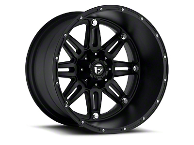 Fuel Wheels Hostage Matte Black 6-Lug Wheel - 20x9 (99-18 Silverado 1500)