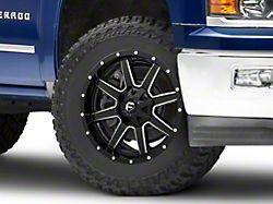 Fuel Wheels Maverick Gloss Black Milled 6-Lug Wheel; 20x9; 20mm Offset (14-18 Silverado 1500)