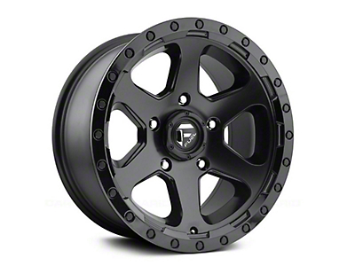 Fuel Wheels Ripper Matte Black 6-Lug Wheel - 18x9 (99-18 Silverado 1500)