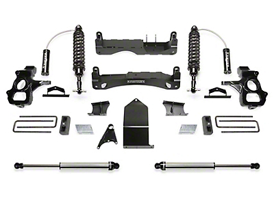 Fabtech 4 in. Performance Lift System w/ Dirt Logic 2.5 Coilovers & Dirt Logic Shocks (14-18 Silverado 1500 Double Cab, Crew Cab)
