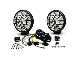 KC HiLiTES 6-Inch Apollo Pro Halogen Lights; Spot Beam (Universal; Some Adaptation May Be Required)