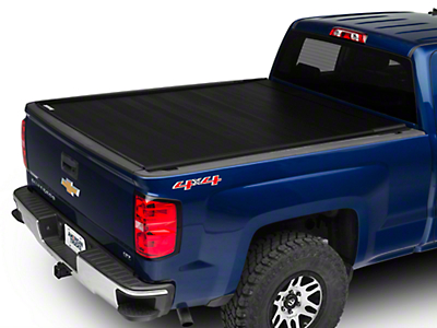 Barricade Retractable Bed Cover (14-18 Silverado 1500 w/ Short & Standard Box)