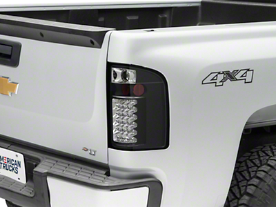 LED Tail Lights - Black (07-13 Silverado 1500)