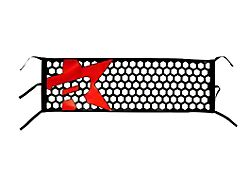 RBP Honeycomb Tailgate Net; Red Star (Universal; Some Adaptation May Be Required)