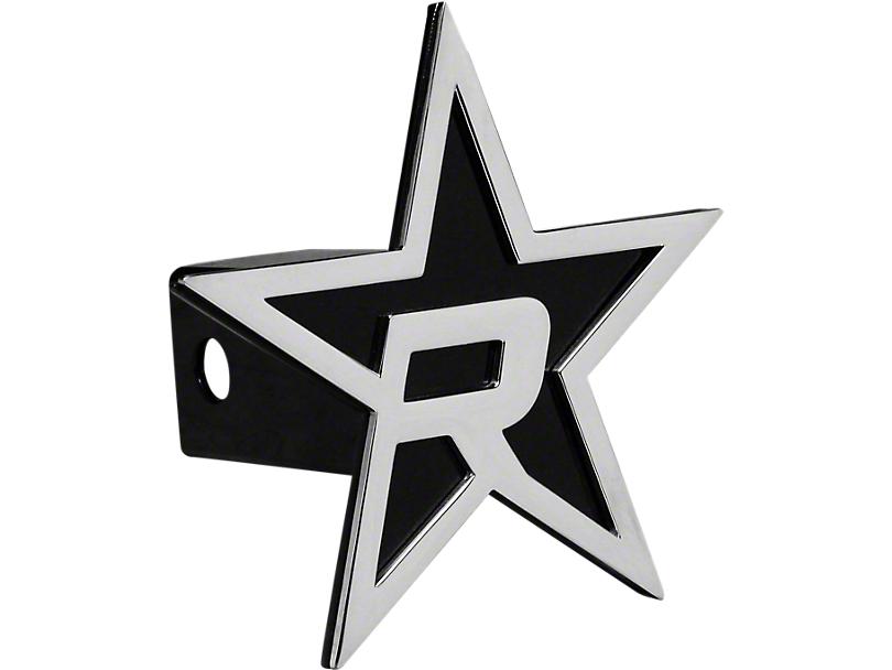 RBP Black/Chrome Star Hitch Cover (99-19 Silverado 1500)