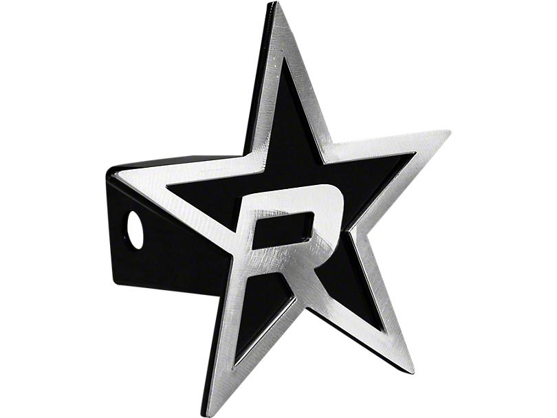 RBP Black/Brushed Star Hitch Cover (99-19 Silverado 1500)