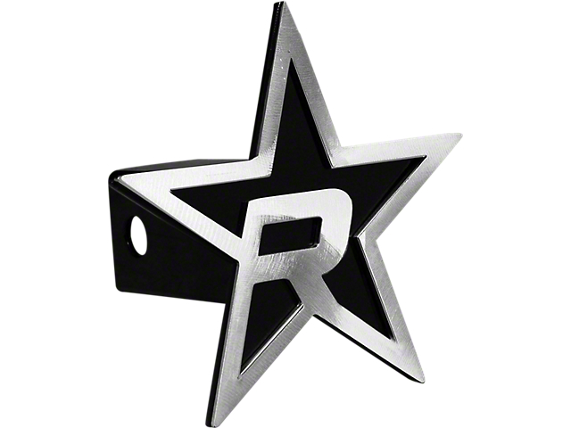 RBP Black/Brushed Star Hitch Cover (99-19 Silverado 1500)