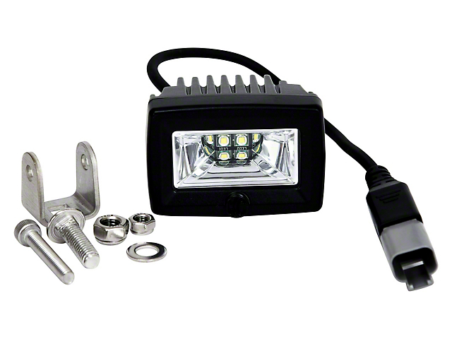 KC HiLiTES 2-Inch C-Series C2 LED Backup Light; Flood Beam