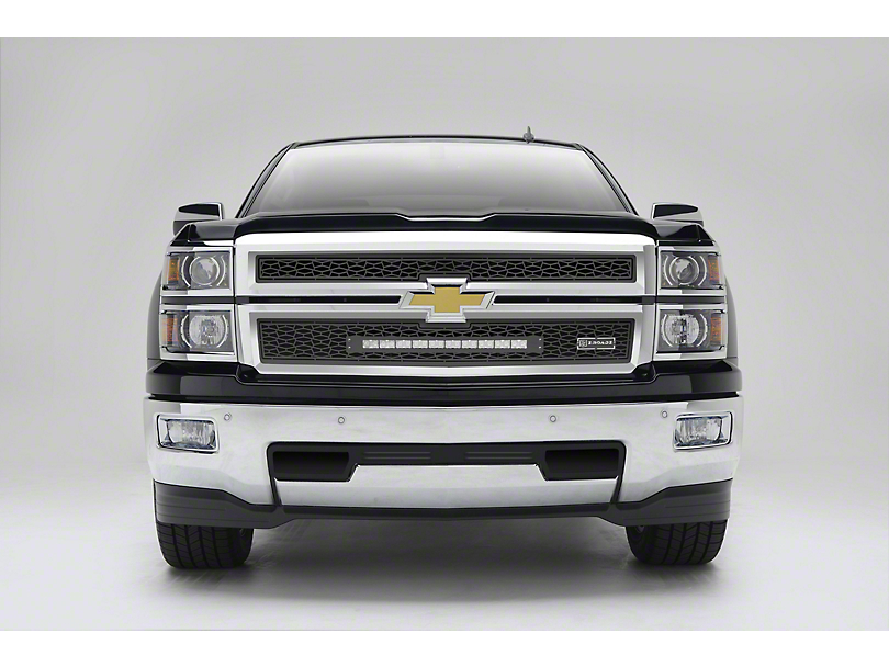 ZRoadz Upper Grille Insert w/ 20 in. LED Light Bar - Black (14-15 Silverado 1500)