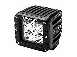 ZRoadz 3-Inch LED Cube Light; Spot Beam (Universal; Some Adaptation May Be Required)