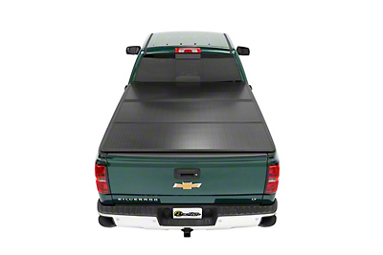 Bestop EZ-Fold Hard Tonneau Cover - Aluminum (14-18 Silverado 1500 w/ Short & Standard Box)