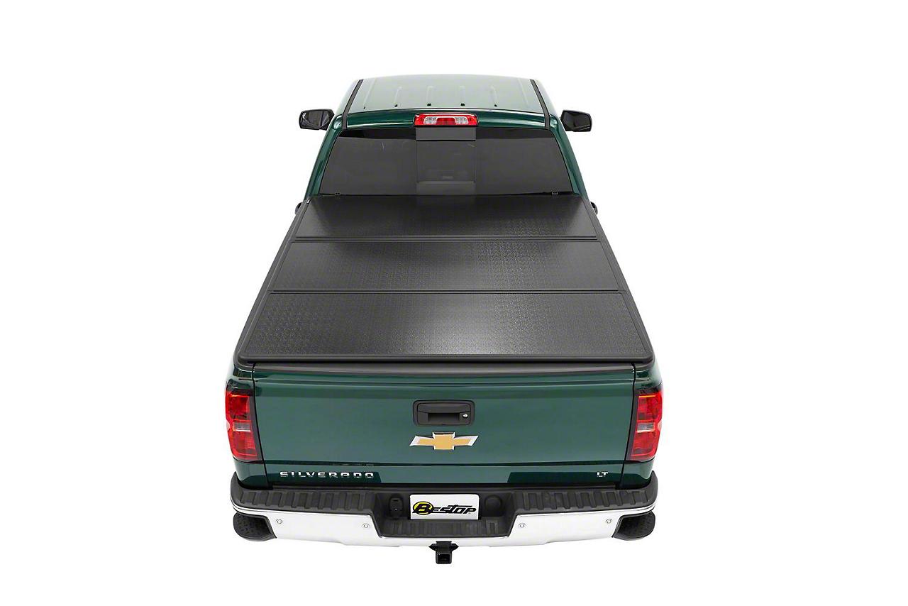 Bestop EZ-Fold Hard Tonneau Cover - Aluminum (07-13 Silverado 1500 w/ Short & Standard Box)