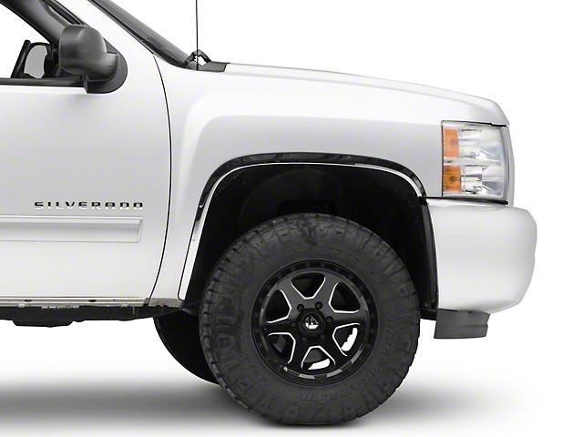 Wheel Well Accent Trim; Stainless Steel (07-13 Silverado 1500)