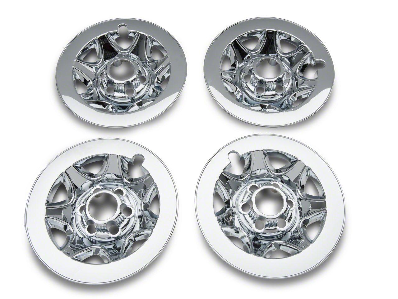"17/"" Chrome Wheel Skins Fits 2014-2018 Chevrolet Silverado 1500"