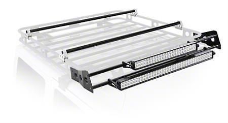 Smittybilt 5 ft. Defender Roof Rack LED Light Bar Mount Kit (99-18 Silverado 1500)