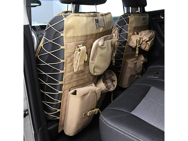 Smittybilt G.E.A.R. Custom Fit Front Seat Covers; Coyote Tan (Universal Fitment)