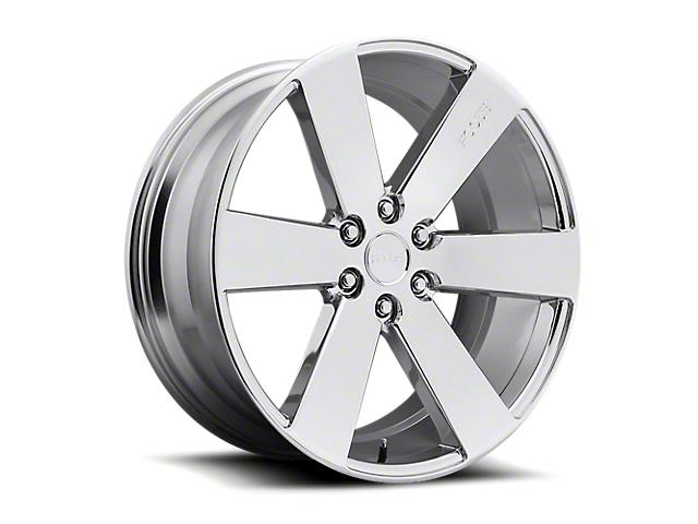 Foose Switch Chrome 6-Lug Wheel; 20x9.5; 30mm Offset (14-18 Silverado 1500)