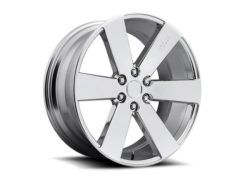 Foose Switch Chrome 6-Lug Wheel - 22x9.5; 30mm Offset (19-20 Silverado 1500)