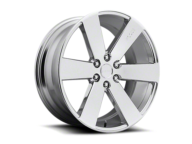 Foose Switch Chrome 6-Lug Wheel; 22x9.5; 30mm Offset (19-20 Silverado 1500)