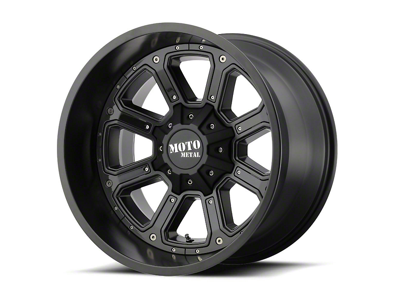 Moto Metal MO984 Shift Black Gray 6-Lug Wheel - 22x14 (99-19 Silverado 1500)
