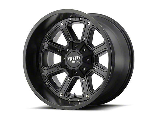 Moto Metal MO984 Shift Black Gray 6-Lug Wheel - 22x14; -76mm Offset (99-19 Silverado 1500)