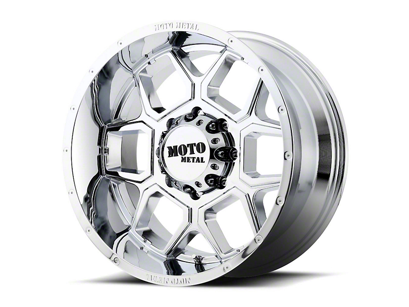 Moto Metal MO981 Spade Chrome 6-Lug Wheel - 22x12 (99-19 Silverado 1500)