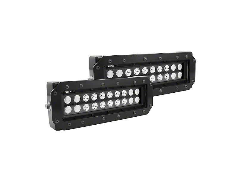 Westin HDX 10 in. B-Force Flush Mount LED Light Bars - Pair