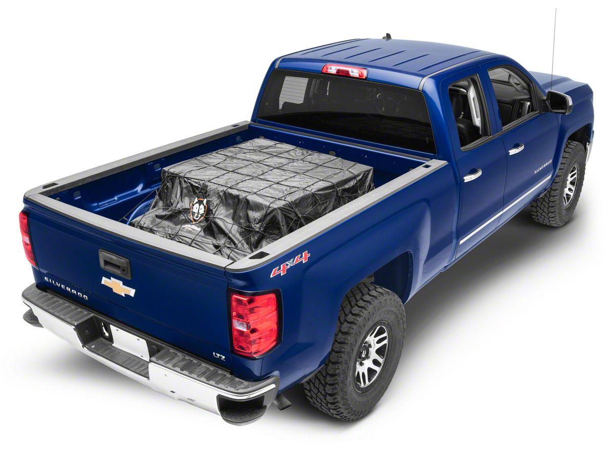 Truck Bed Cargo Net >> Rightline Gear Truck Bed Cargo Net W Built In Tarp 99 19 Silverado 1500