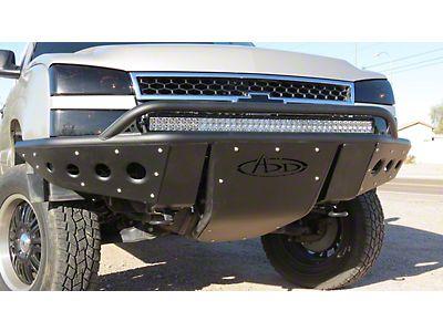 N-Fab Silverado R S P  Pre-Runner Front Bumper - Textured