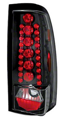 Alteon Bermuda Black LED Tail Lights (99-06 Silverado 1500 Fleetside)