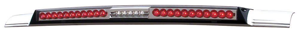 Alteon MEGA Crystal Clear LED Third Brake Light w/ Red Trim (99-06 Silverado 1500)